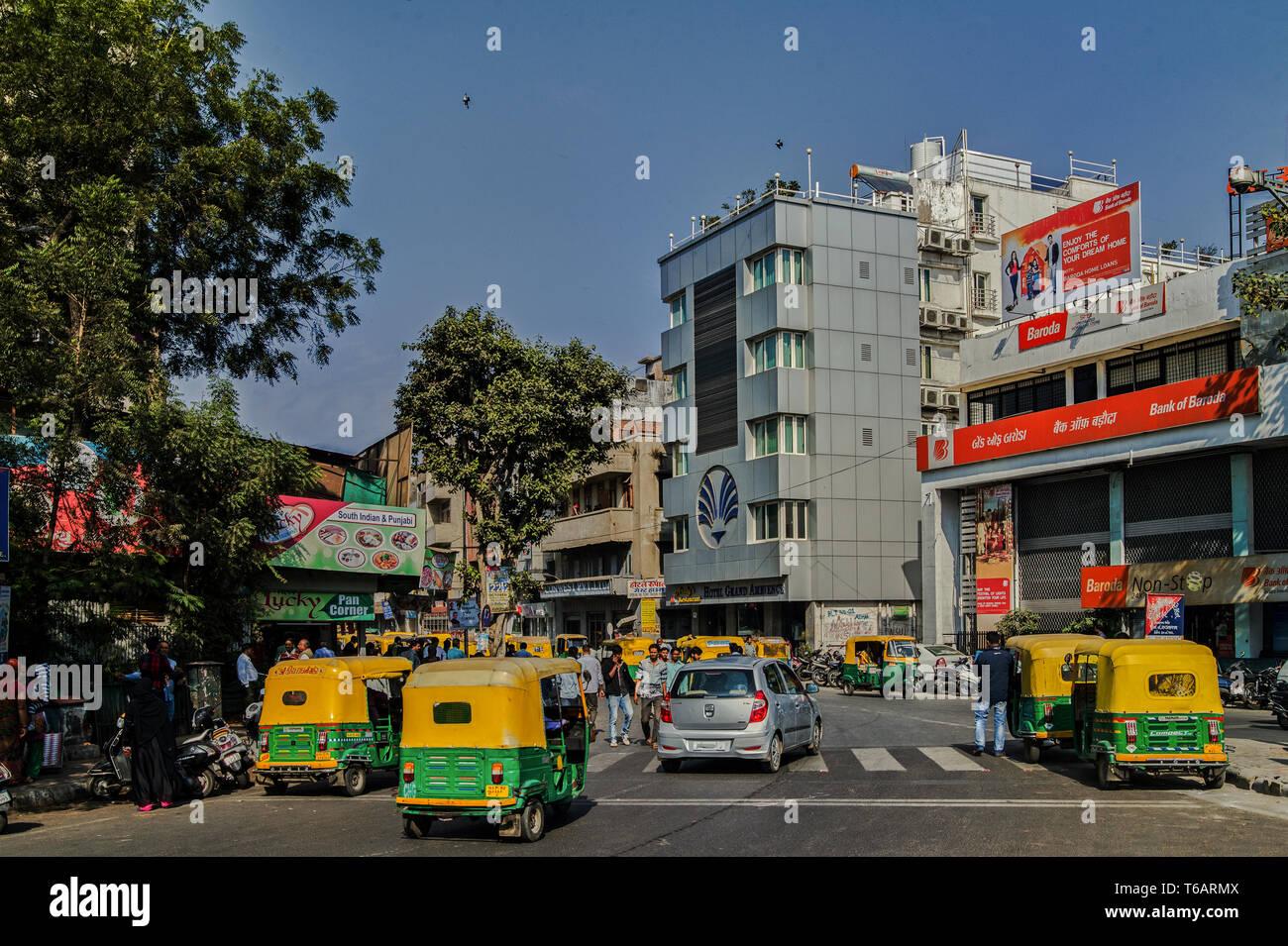 16—Jan-2017-Hotel Grand Ambience- Lal Darwaja, Opp. Dinbai Tower, Ahmedabad, Gujarat 380001-GUJARAT INDIA - Stock Image
