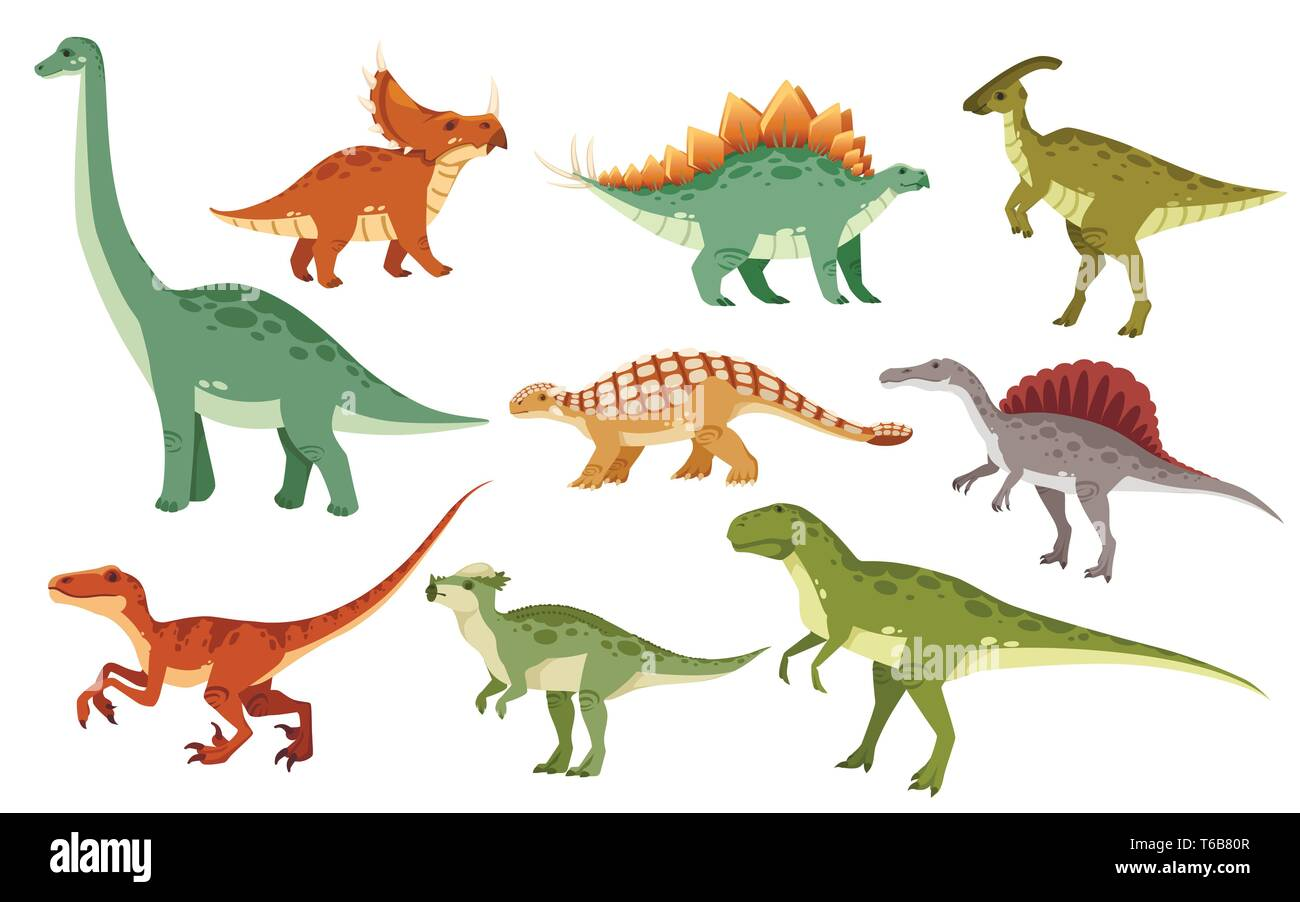 Cartoon Dinosaurs High Resolution Stock Photography And Images Alamy Descubre todas nuestras páginas para colorear sobre el tema de dinosaurios. https www alamy com cartoon dinosaur set cute dinosaurs icon collection colored predators and herbivores flat vector illustration isolated on white background image244880855 html