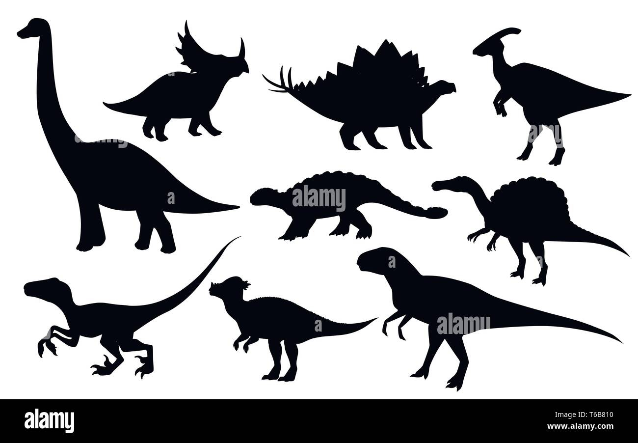 Cartoon Dinosaurs High Resolution Stock Photography And Images Alamy Somos el primer parque temático permanente de dinosaurios del ecuador. https www alamy com cartoon dinosaur set cute dinosaurs icon collection black silhouette predators and herbivores flat vector illustration isolated on white background image244880860 html