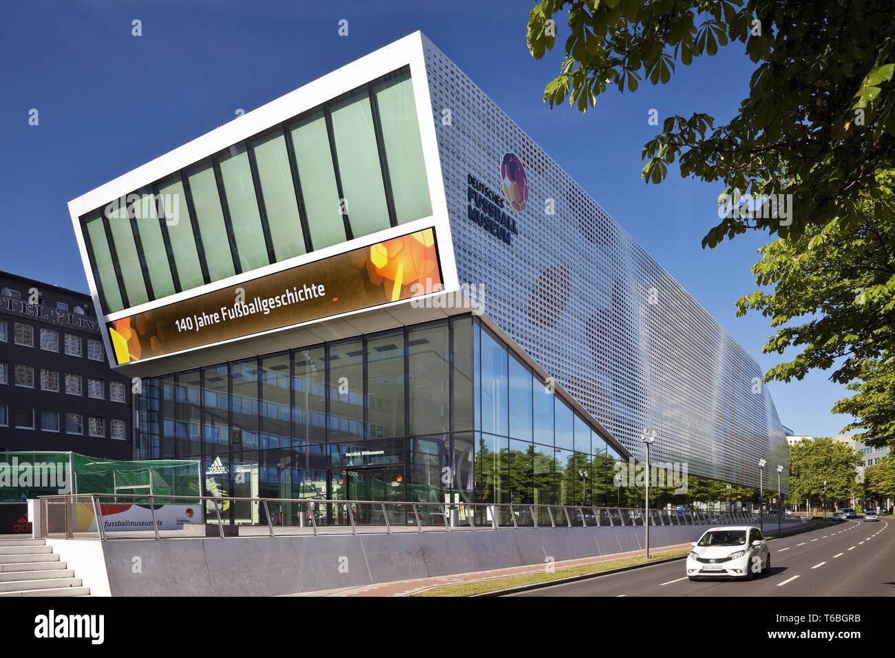 German Football Museum, Dortmund, Ruhr Area, Germany, Europe - Stock Image