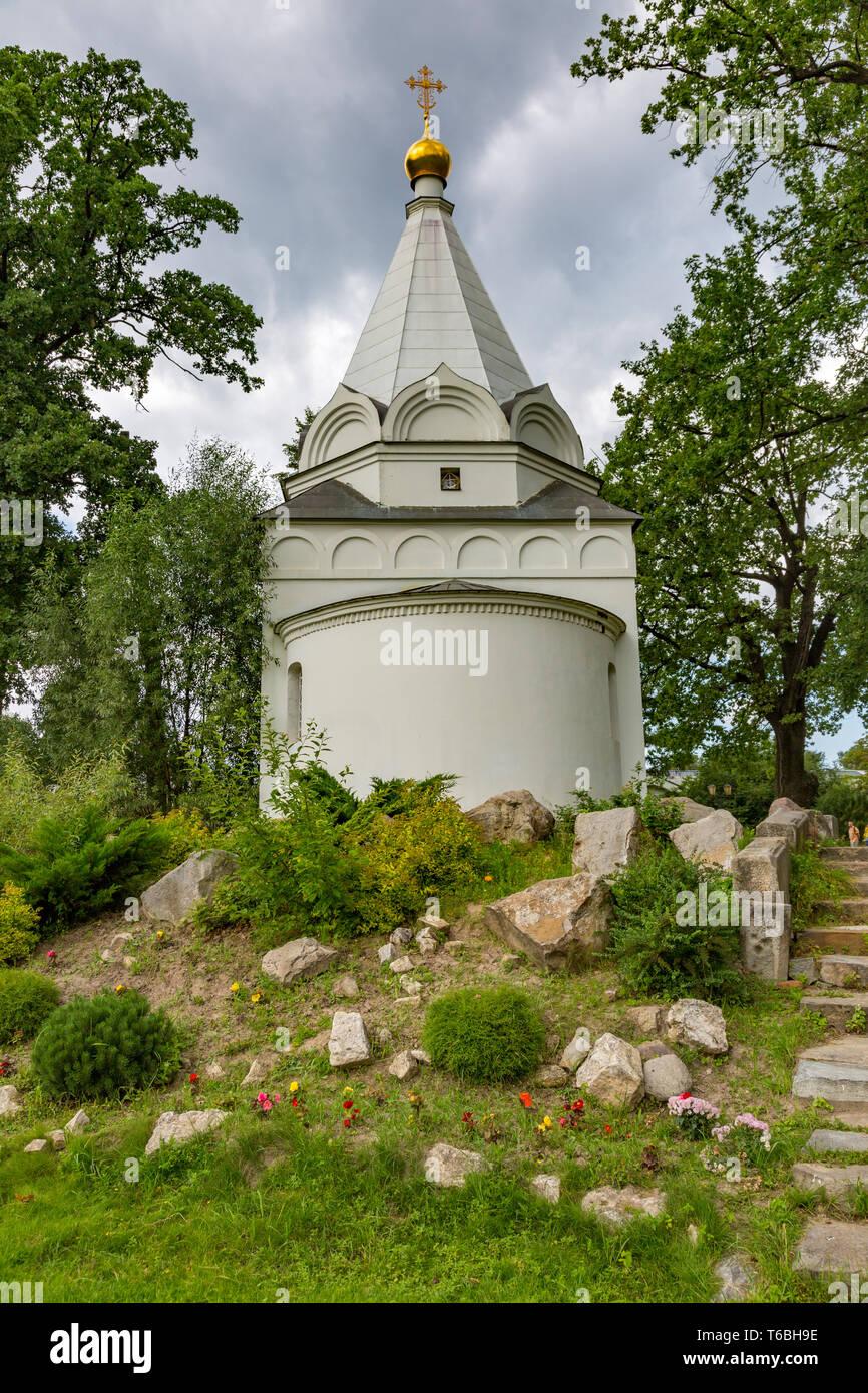 Nikolo-Ugreshsky Monastery in Dzerzhinsky, Russia - Stock Image