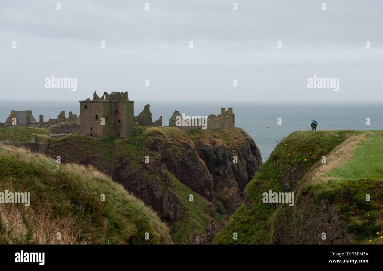 Dunnottar Castle - Stock Image