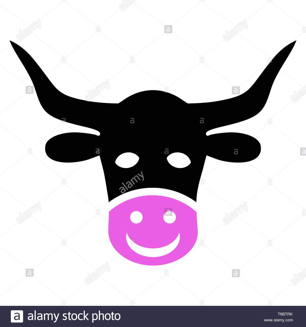 Funny Cow Head Stock Photos & Funny Cow Head Stock Images