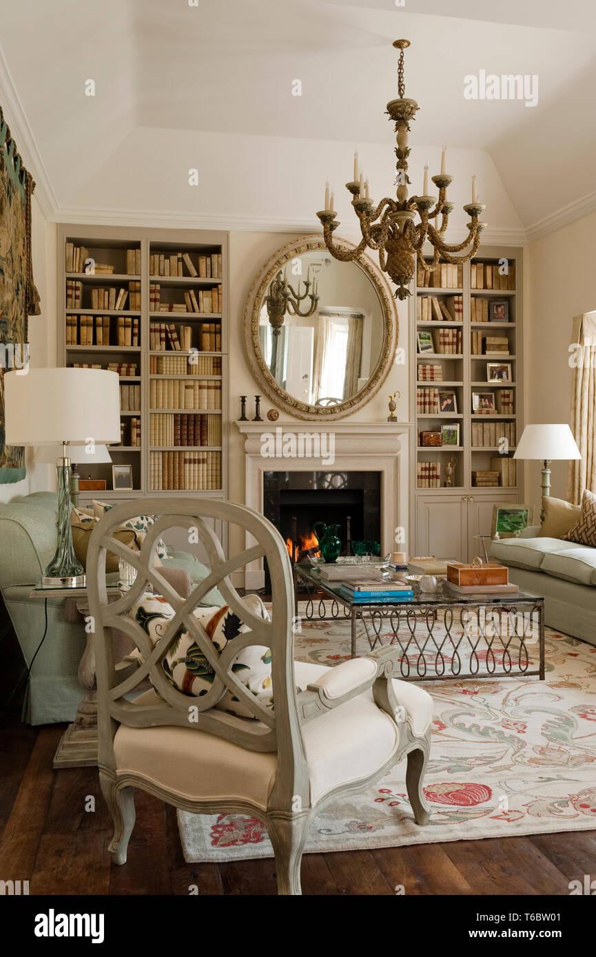 Georgian Style Living Room Stock Photo 244894161 Alamy