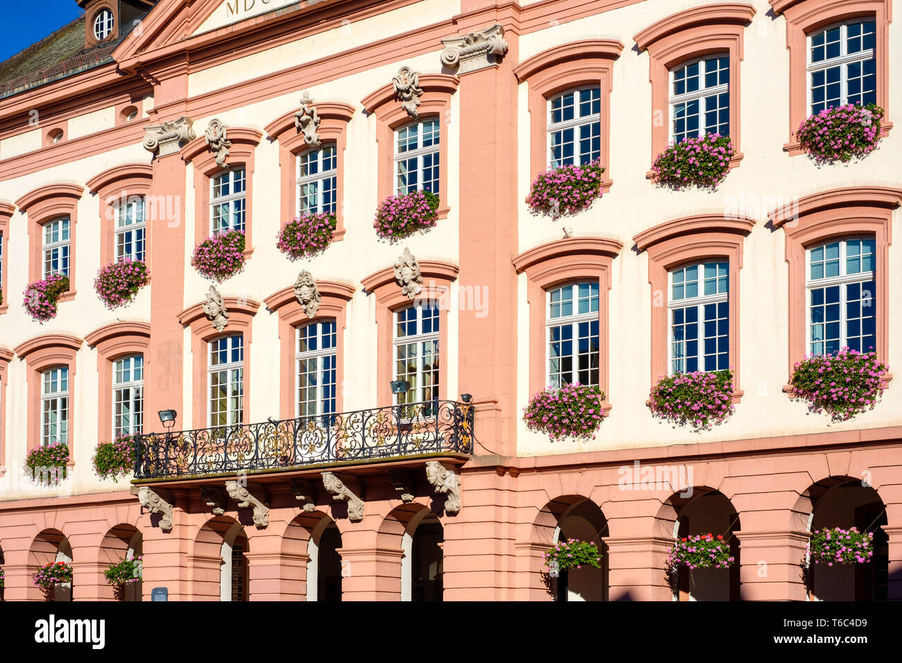 Stadt Gengenbach town hall, Gengenbach, Baden-Württemberg, Germany - Stock Image