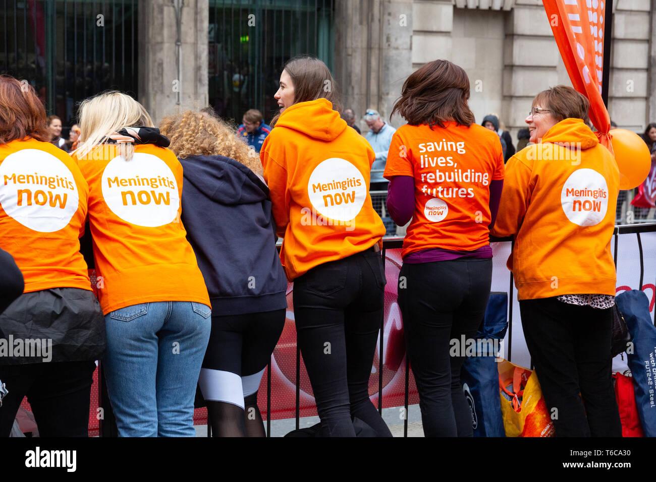 The Virgin London Marathon 2019 - Stock Image