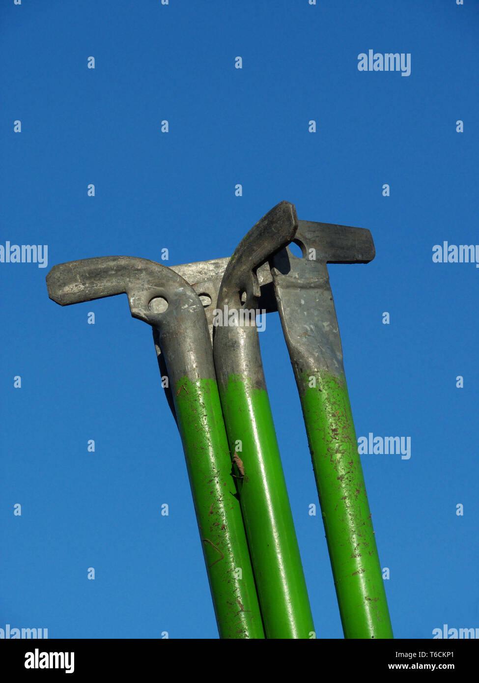scaffolding strive - Stock Image