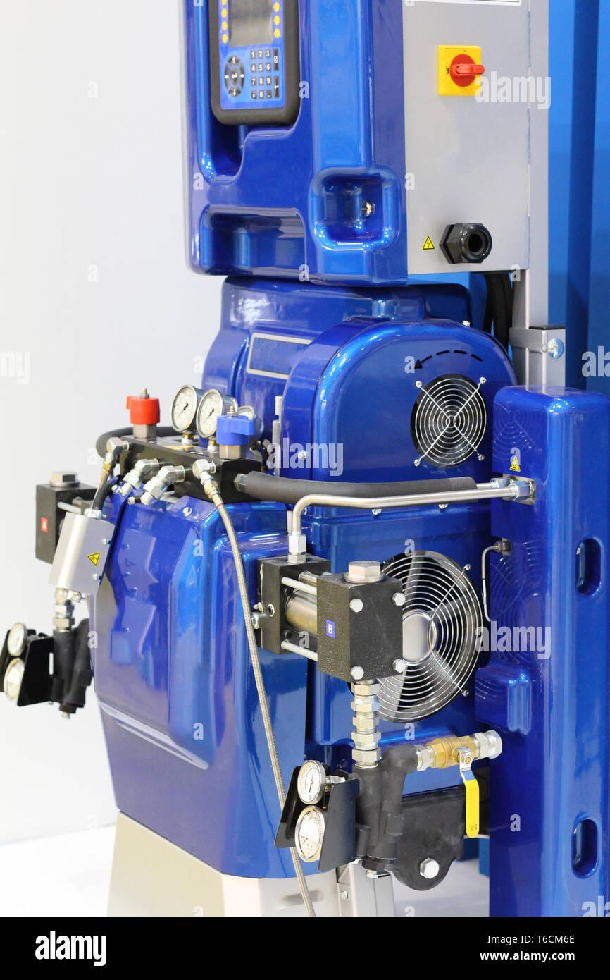 Dispenser  Hydraulic equipment for coatings and polyurea