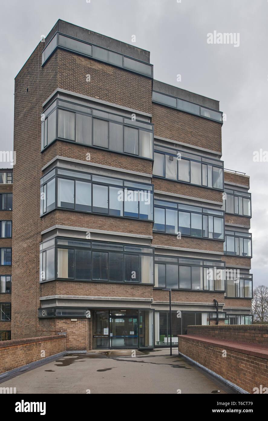 School of Education, Birmingham University, Birmingham UK - Stock Image