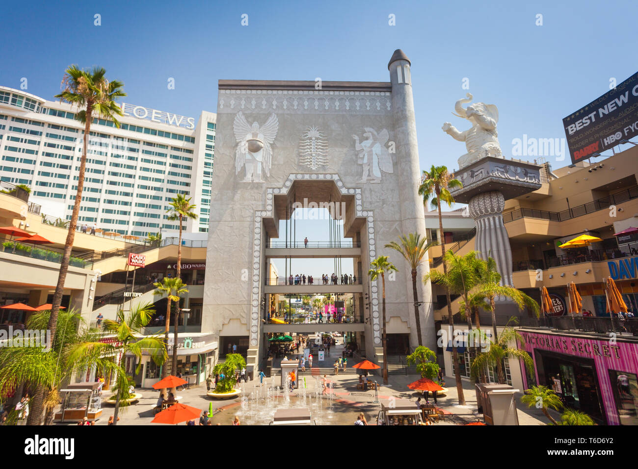 Los Angeles Usa July 27 2018 Hollywood And Highland