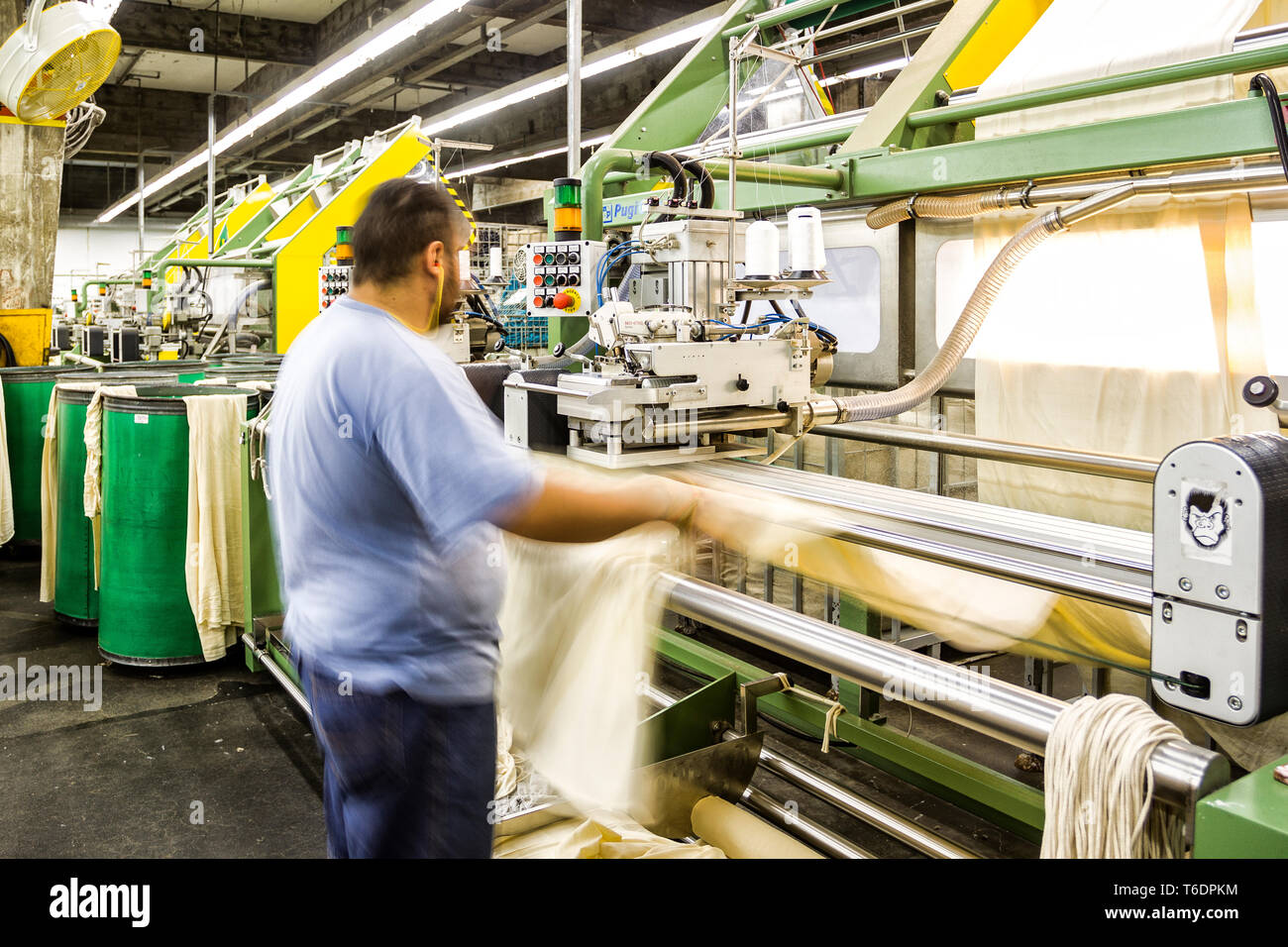 Textile Industry Stock Photos & Textile Industry Stock Images - Alamy
