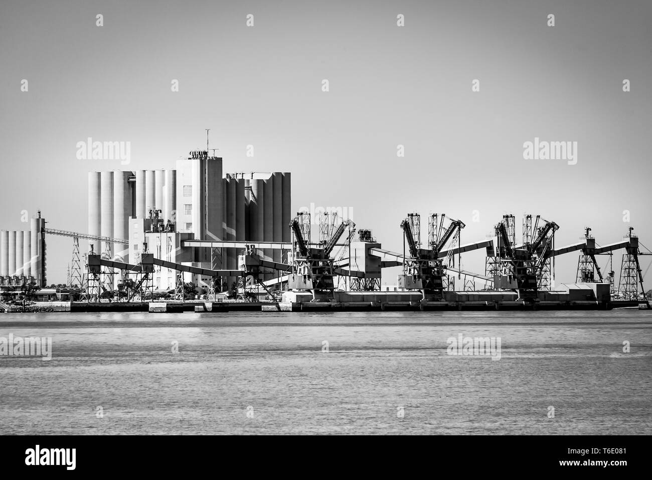 Industry in Lisbon, Portugal - Stock Image