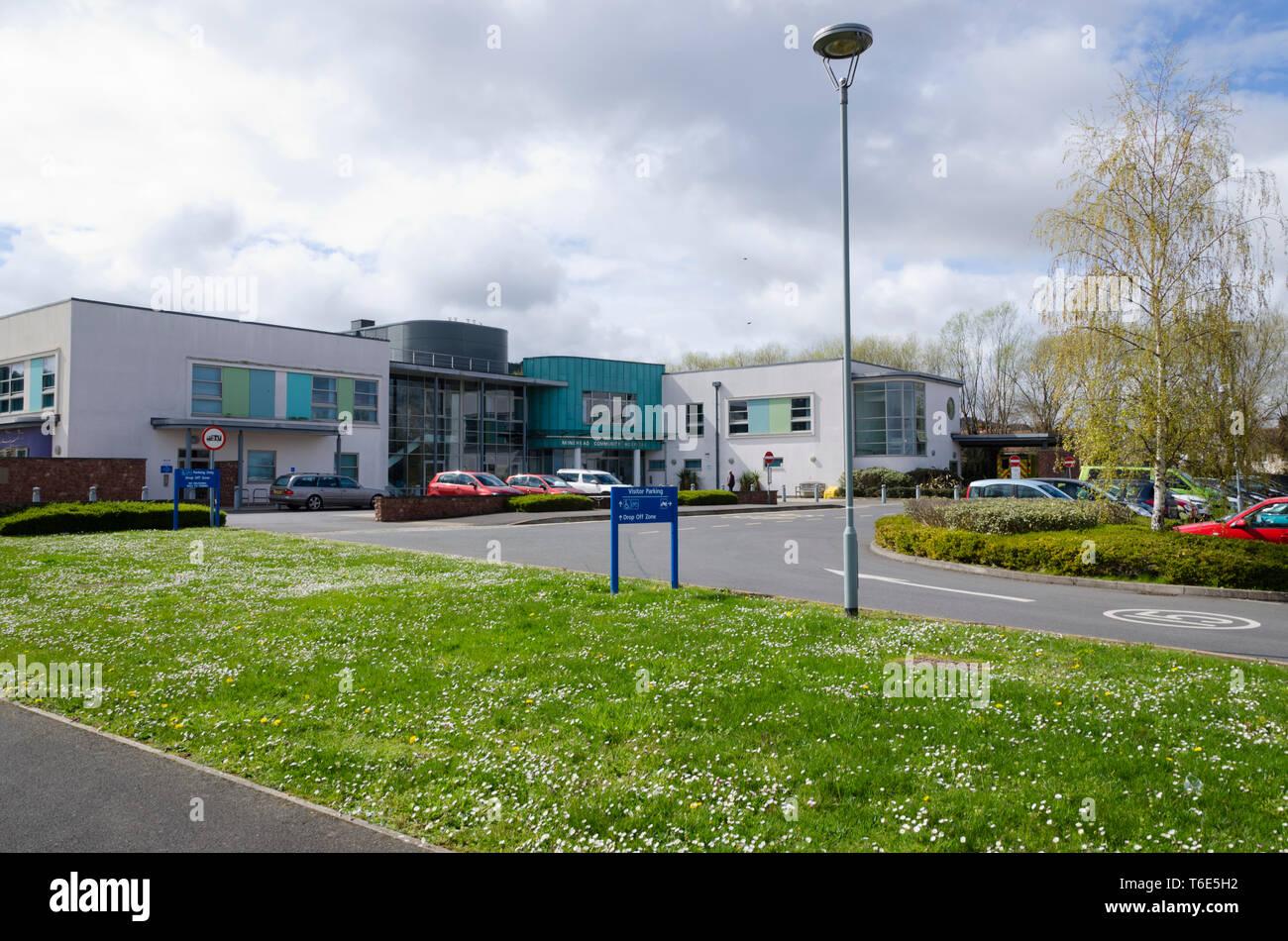 Minehead Community Hospital - Stock Image
