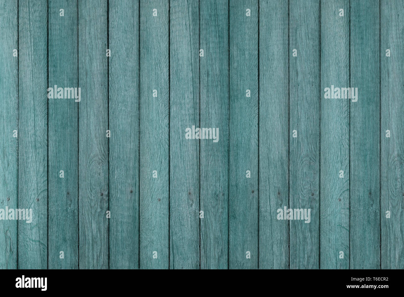 blue grunge wood pattern texture background, wooden planks. - Stock Image