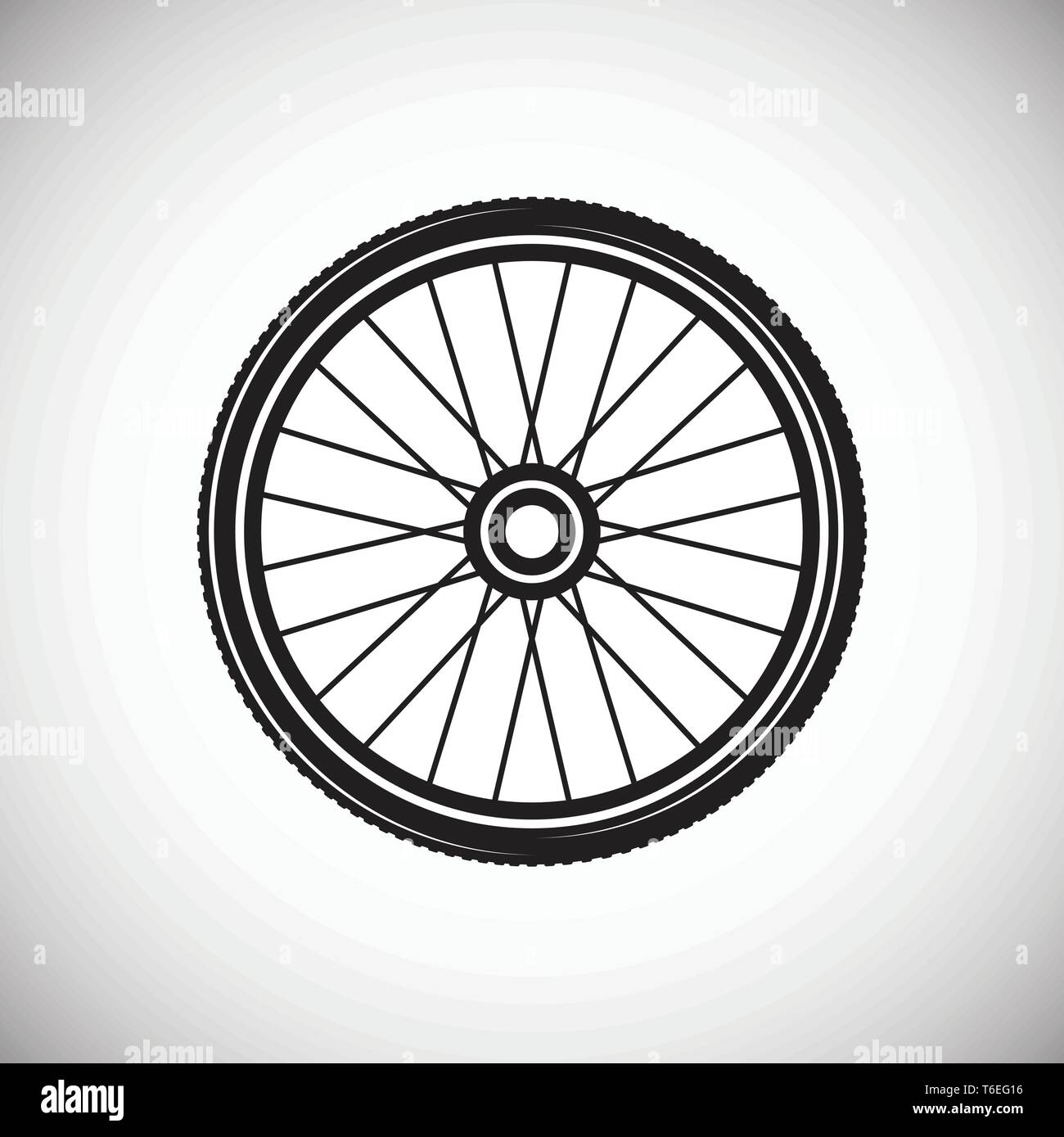 Bicycle Wheel Icon On Background For Graphic And Web Design Simple Vector Sign Internet Concept Symbol For Website Button Or Mobile App Stock Vector Image Art Alamy