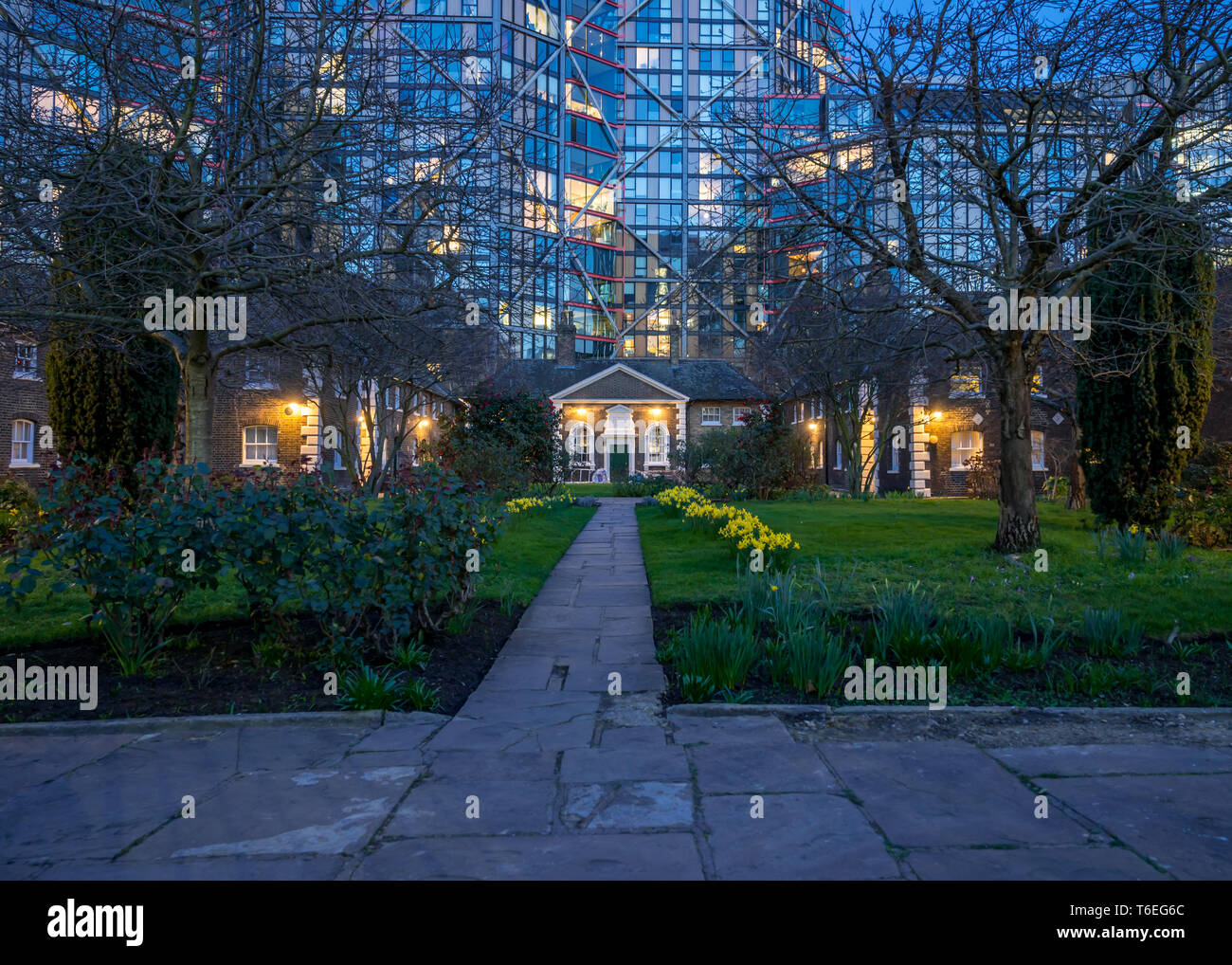 Horton Almshouses,, London - Stock Image