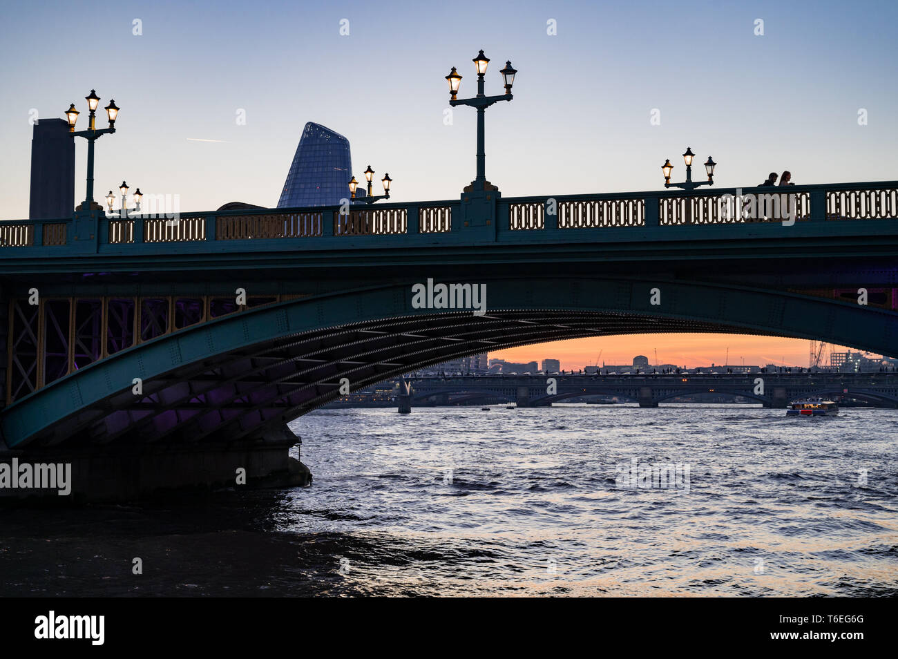 Southwark Bridge, London - Stock Image