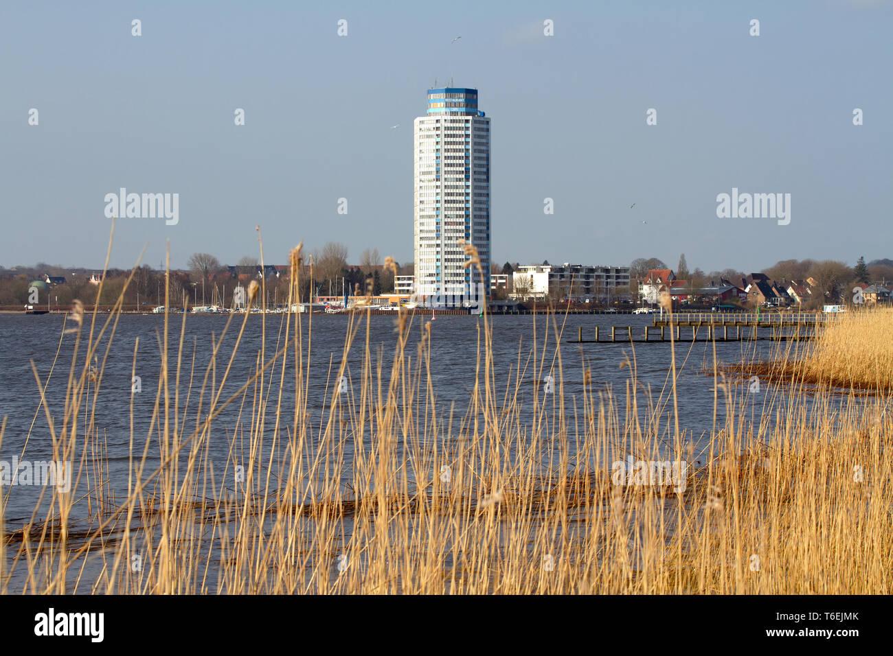 Vikingtower Schleswig. Germany - Stock Image