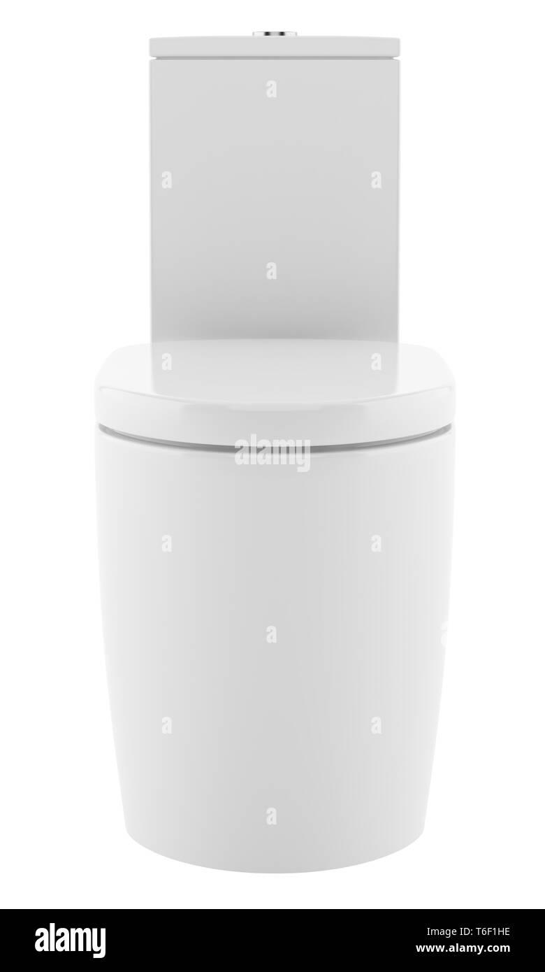 Wondrous Modern Standing Toilet Bowl Isolated On White Background Creativecarmelina Interior Chair Design Creativecarmelinacom