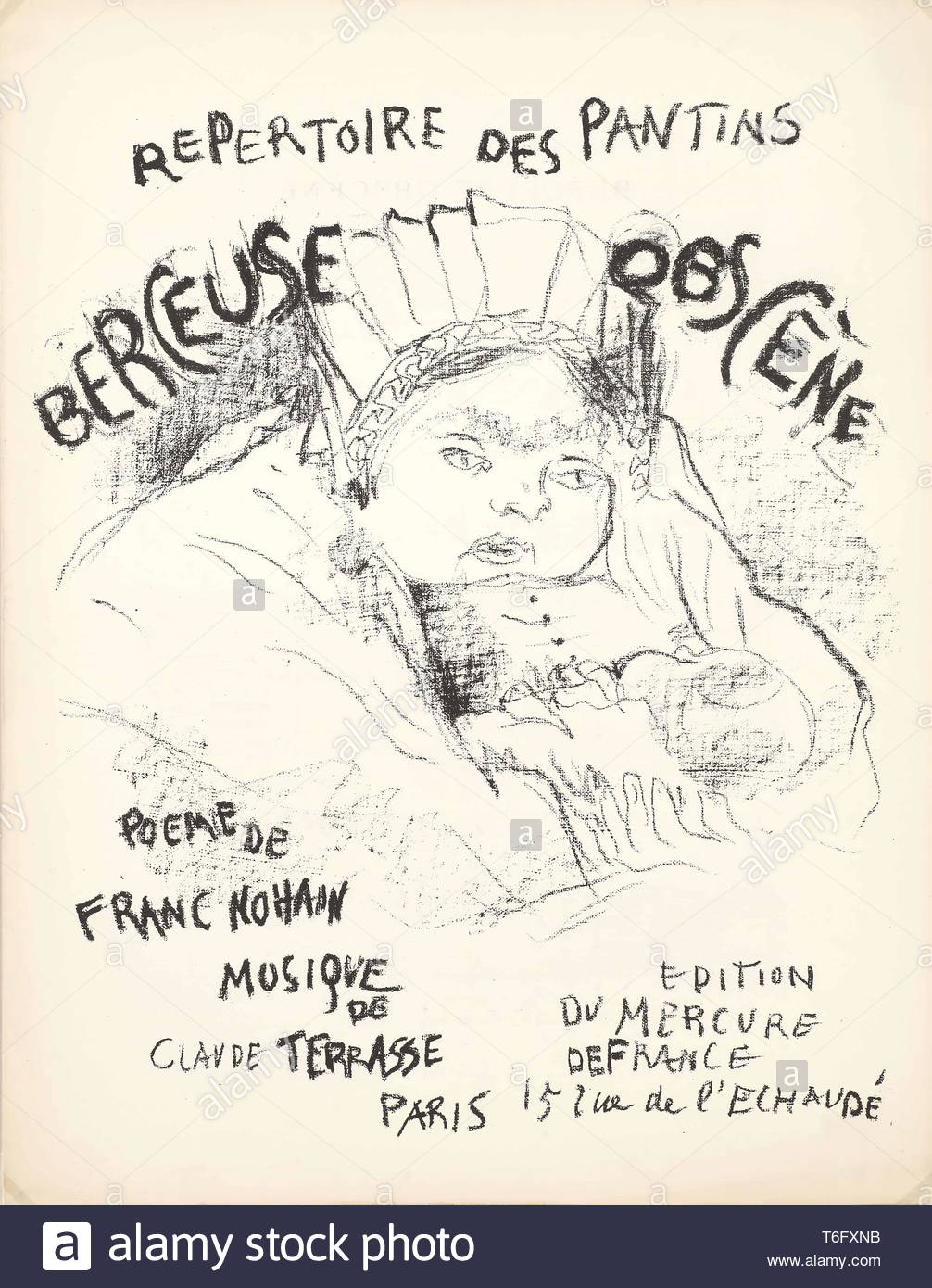 Pierre Bonnard-Cover for - Stock Image
