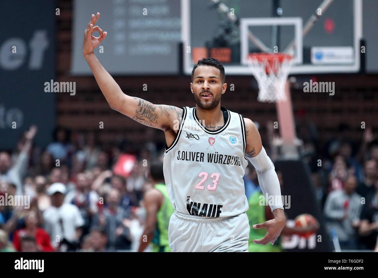 wähle echt viele möglichkeiten großer Lagerverkauf 01 May 2019, Bavaria, Würzburg: Basketball: Europe Cup, s ...