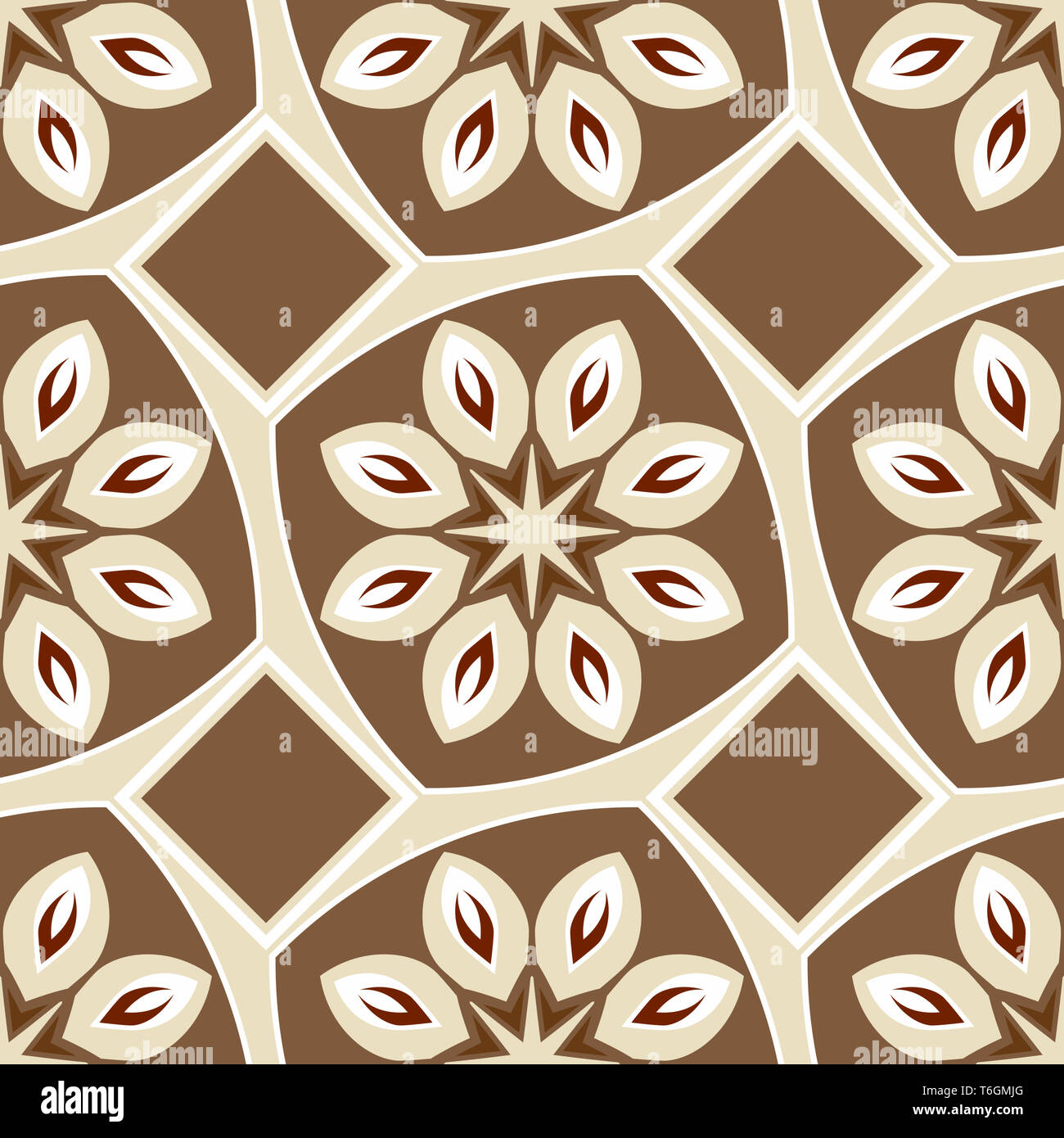 seamless pattern - Stock Image