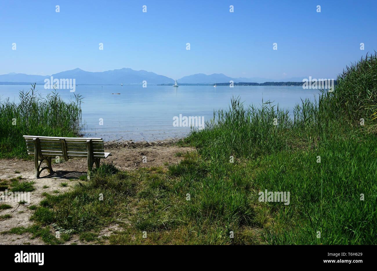 lake chiemsee, bavaria, germany Stock Photo