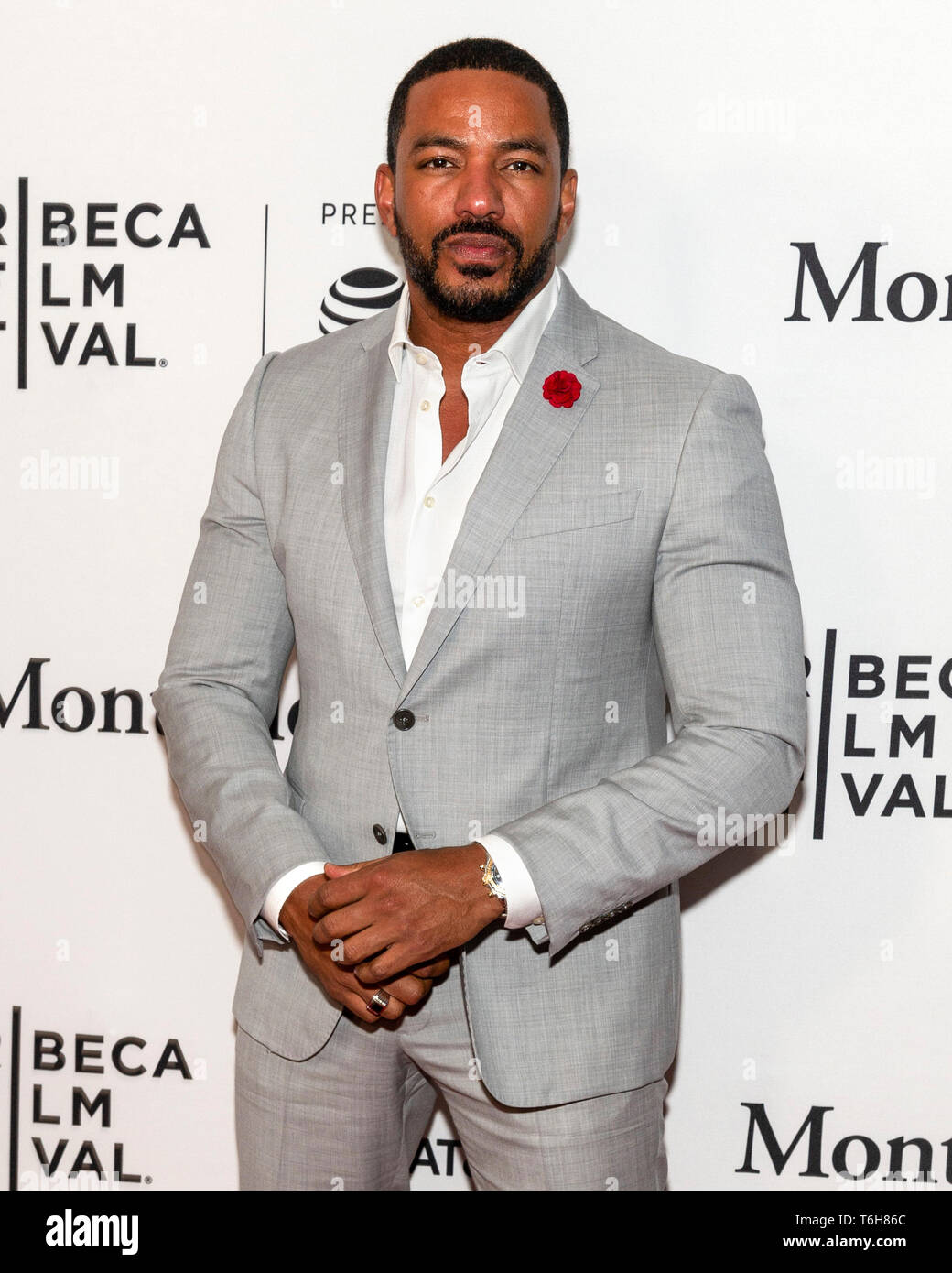 New York Ny April 29 2019 Laz Alonso Attends The The Boys Screening During The 2019 Tribeca Film Festival At Sva Theater Stock Photo Alamy