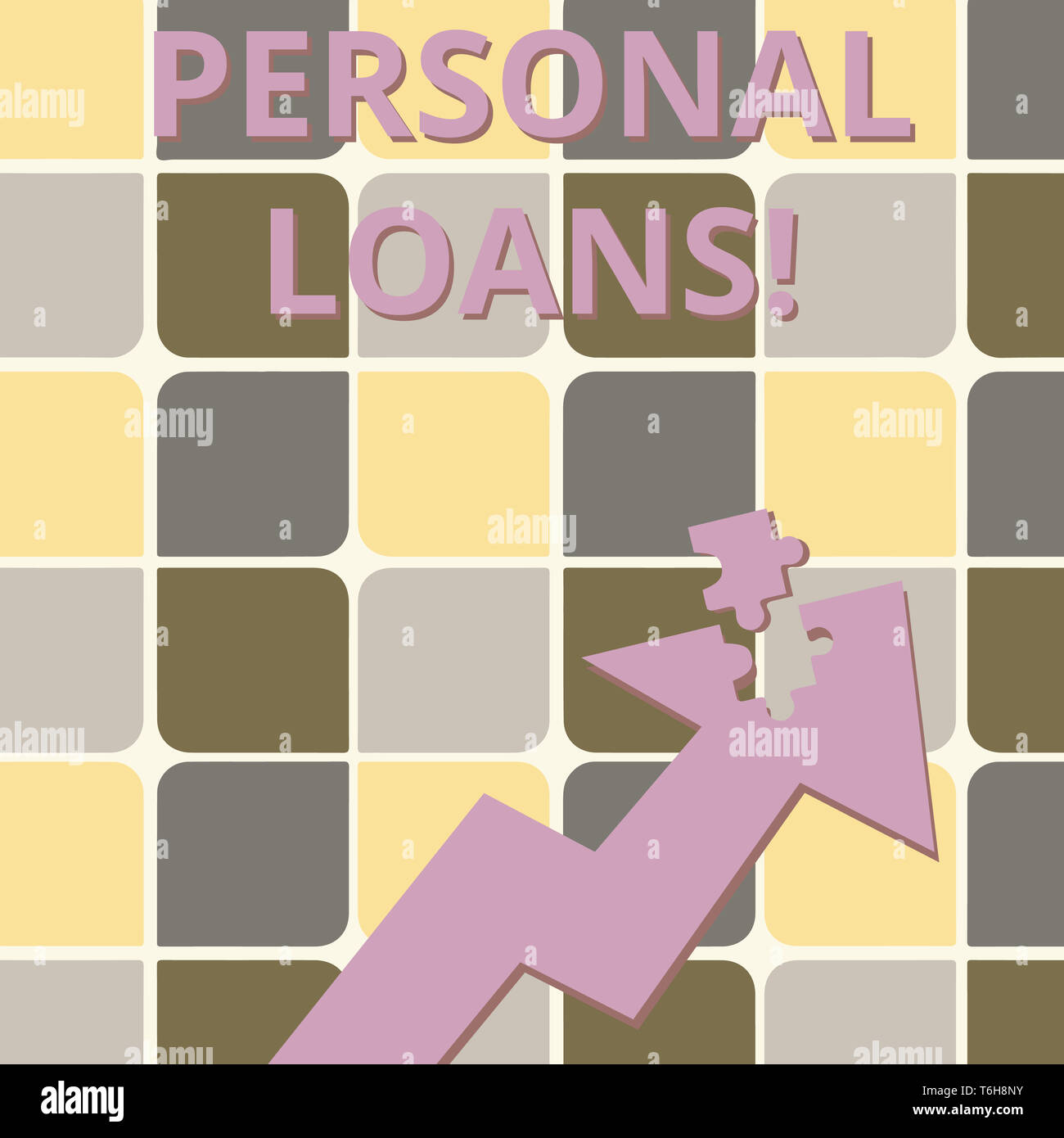Word writing text Personal Loans  Business photo showcasing