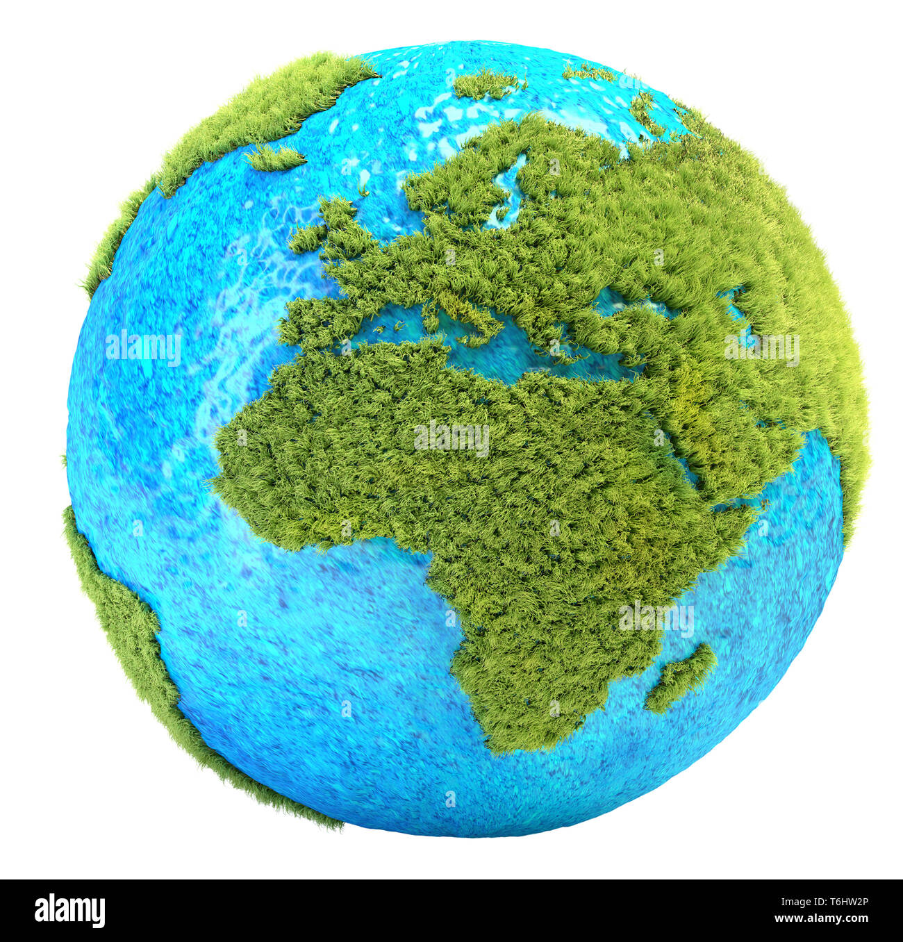 grass Earth - Stock Image
