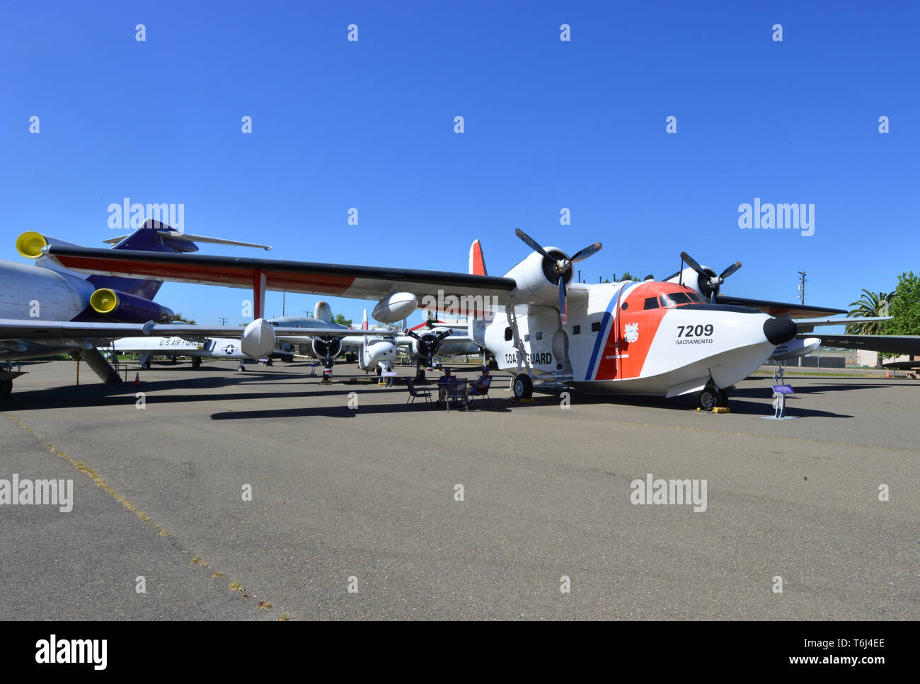 Grumman HU-16E Albatross Stock Photo