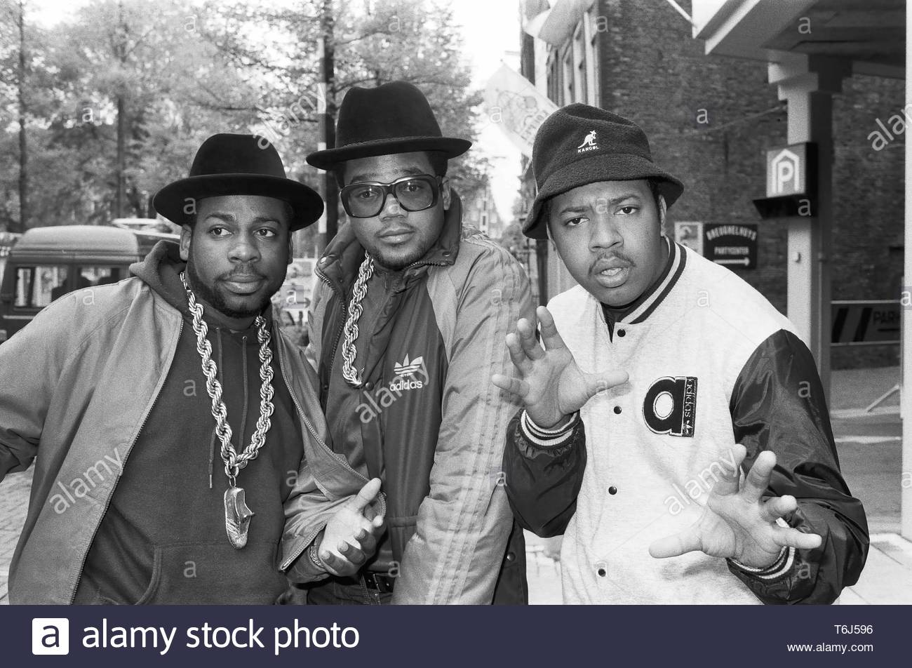 Wright, Nigel-Run-DMC - Stock Image