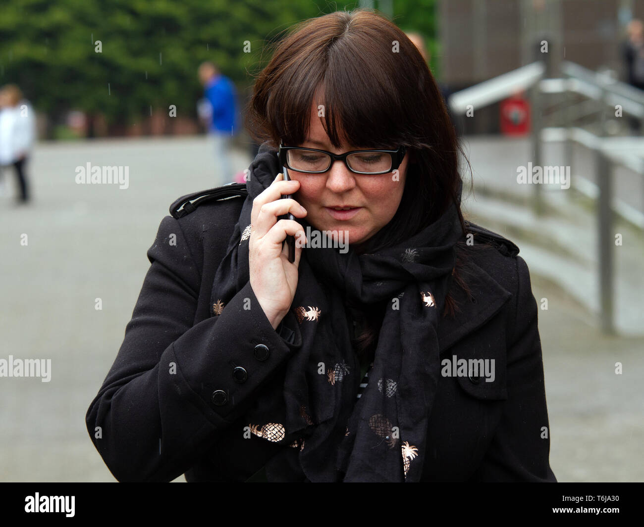 Natalie McGarry seen exiting from Glasgow Sheriff Court  The