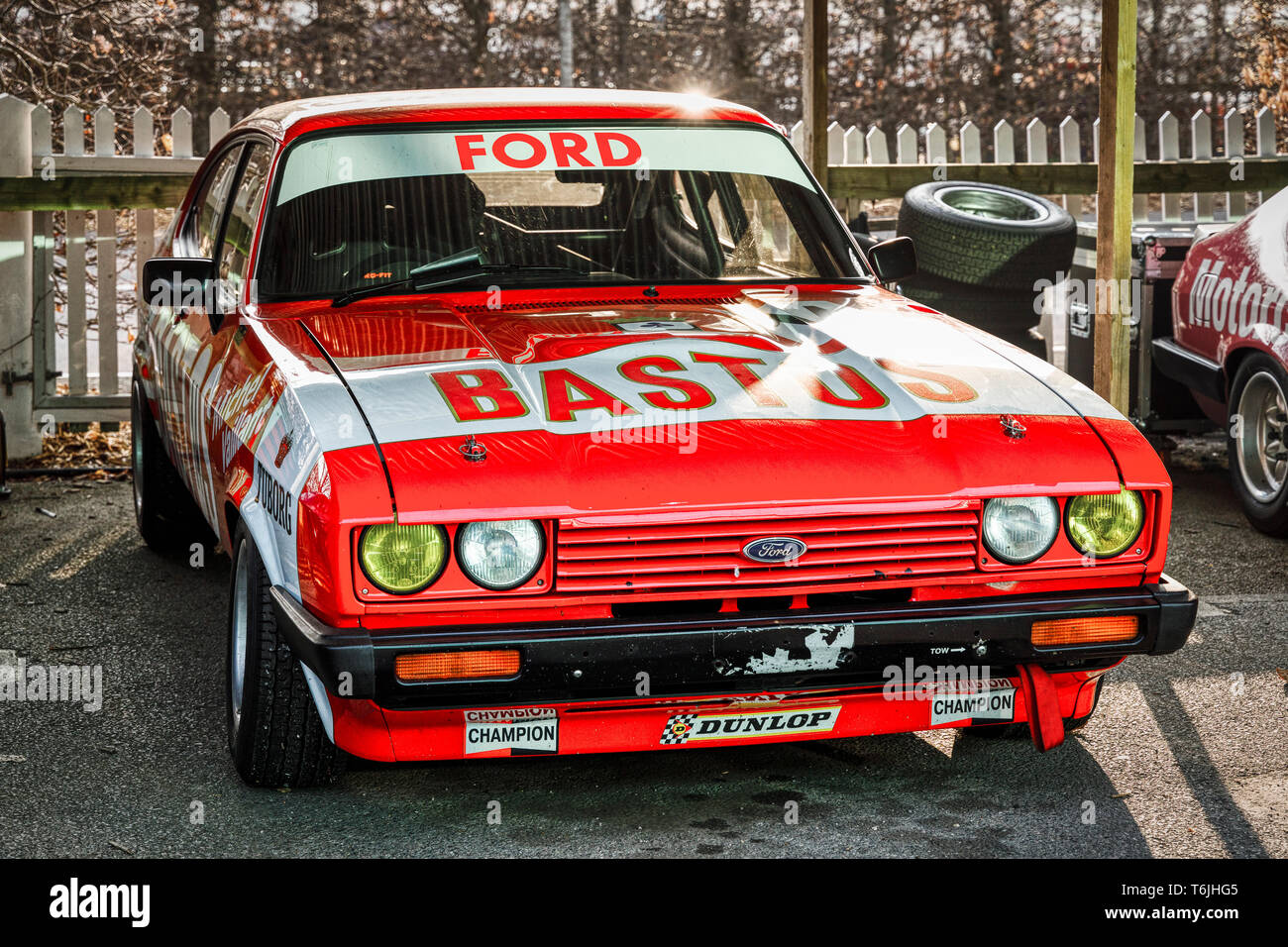 Its Classic 3.0 >> 1980 Ford Capri Mkiii 3 0s In It S Bastos Livery In The