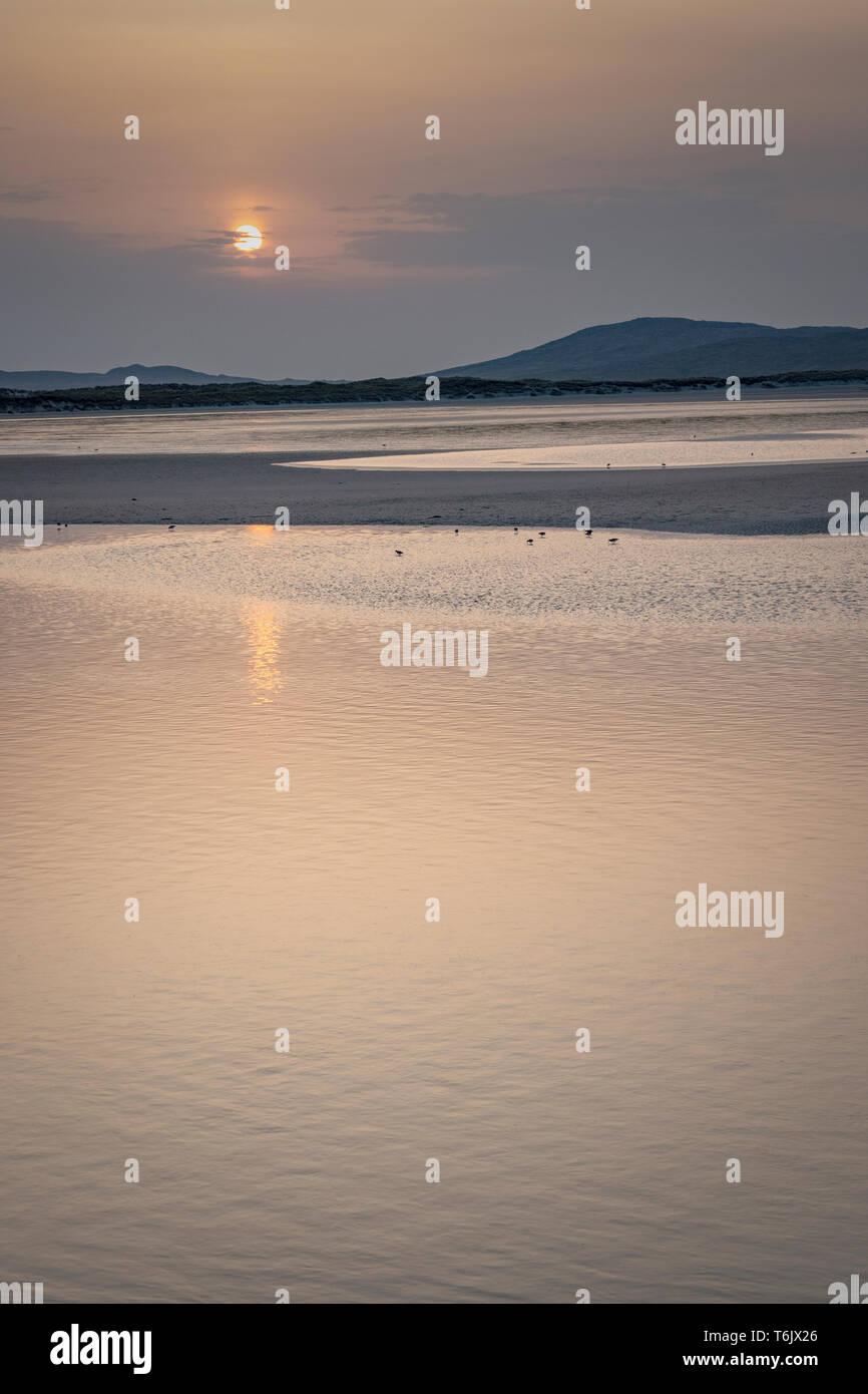 Beaches on the Isle of Harris - Stock Image