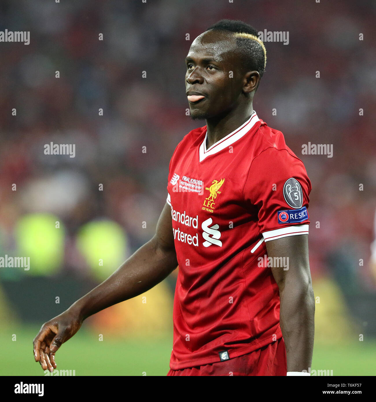 Liverpool Fc Beaten 3 0 By Real Madrid At Anfield: Sadio Mane Stock Photos & Sadio Mane Stock Images