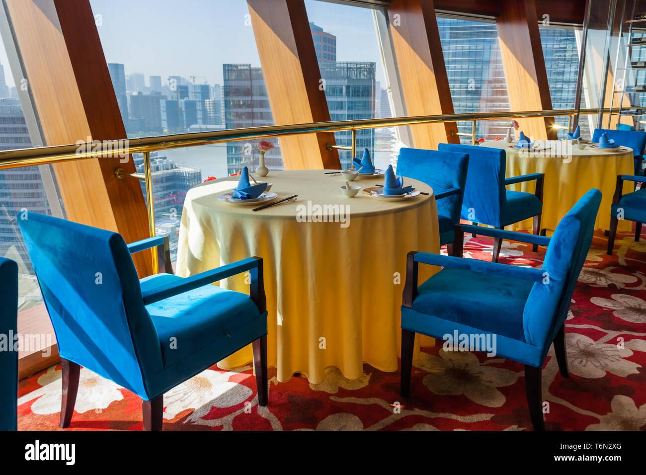 Modern Interior Of A Cafe Bar Shanghai China Stock Photo Alamy