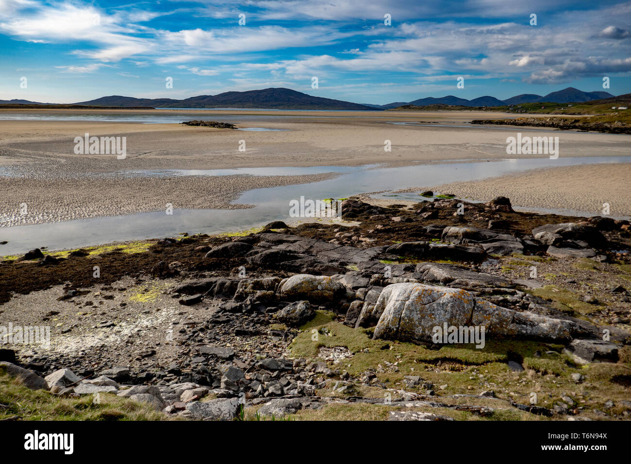 View over Sheileboist - Stock Image