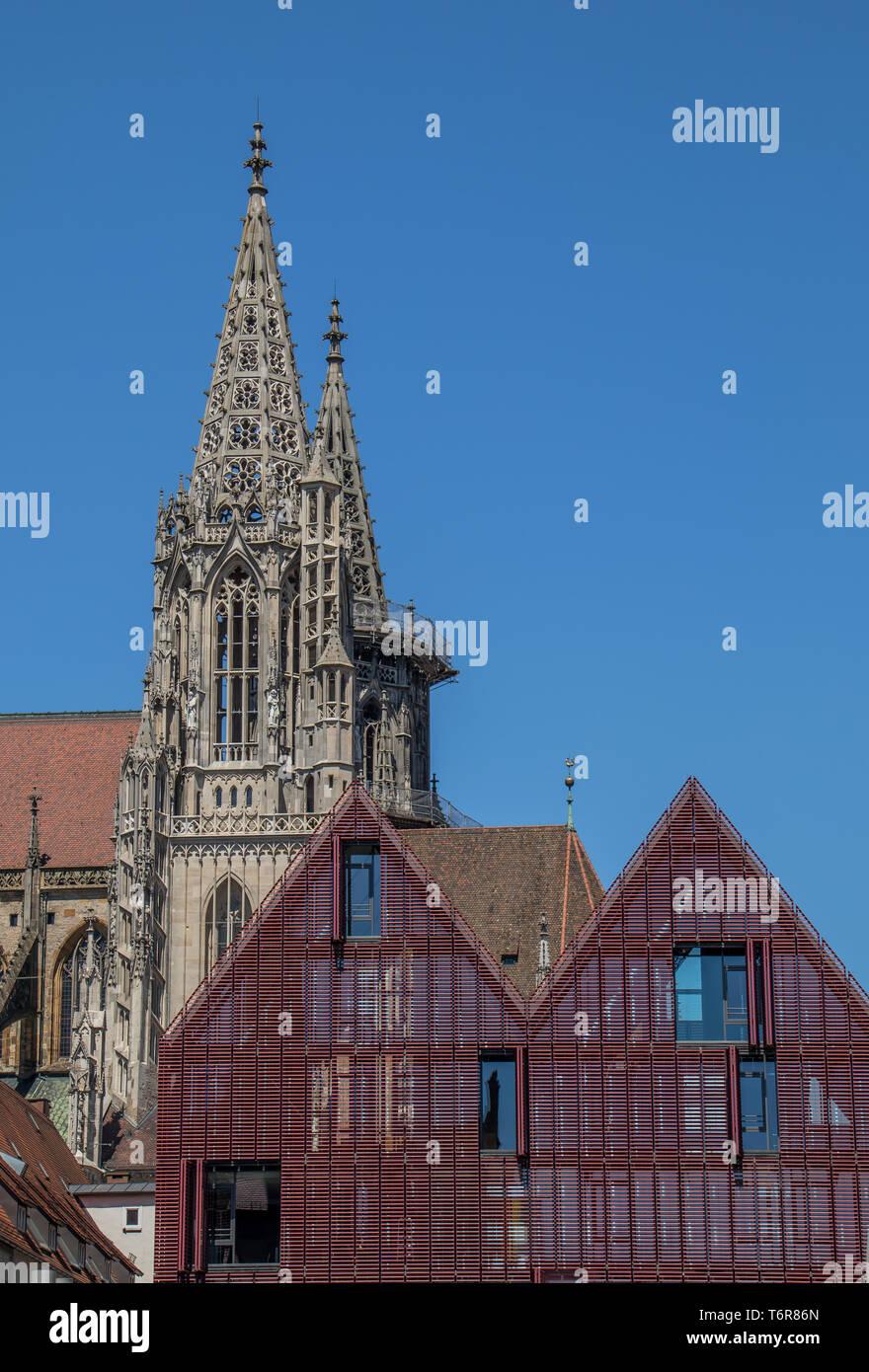 Ulm Minster Stock Photo