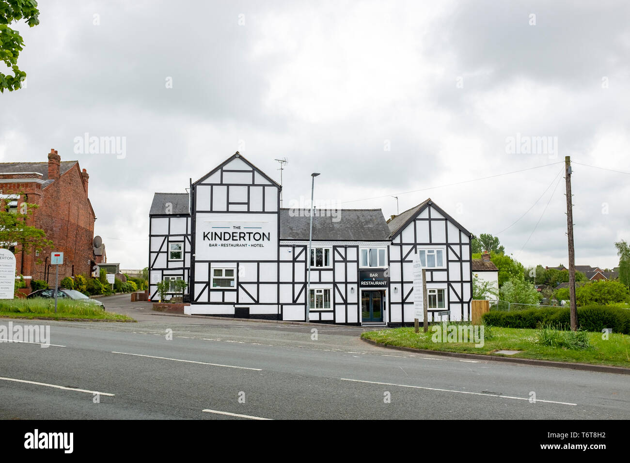 The Kinderton Hotel in Middlewich Cheshire UK - Stock Image