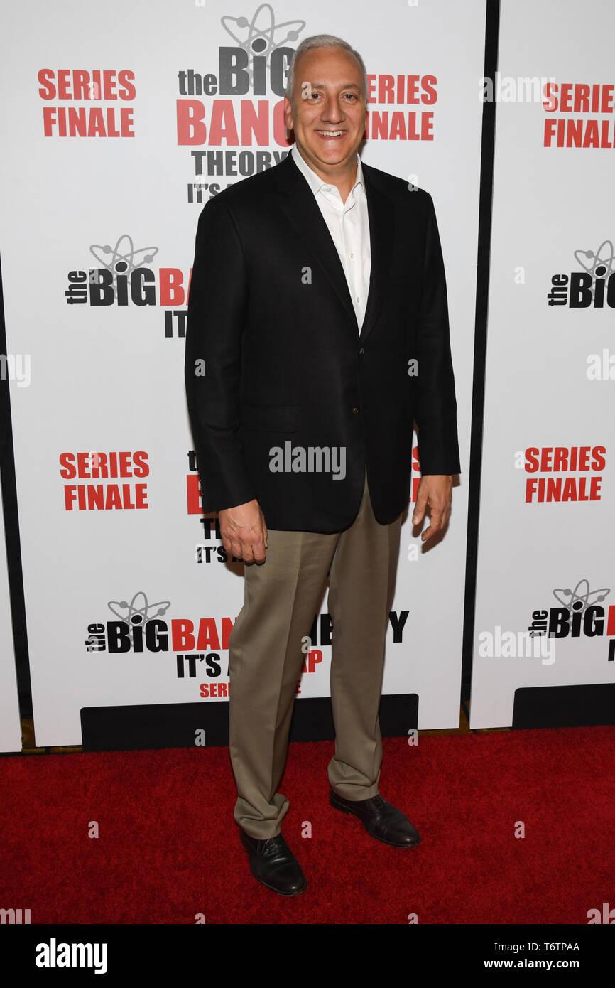 May 1, 2019 - Pasadena, California, U.S. - 01 May 2019 - Pasadena, California - Michael J. Massimino. ''The Big Bang Theory'' Series Finale Party held at the The Langham Huntington. Photo Credit: Billy Bennight/AdMedia (Credit Image: © Billy Bennight/AdMedia via ZUMA Wire) - Stock Image