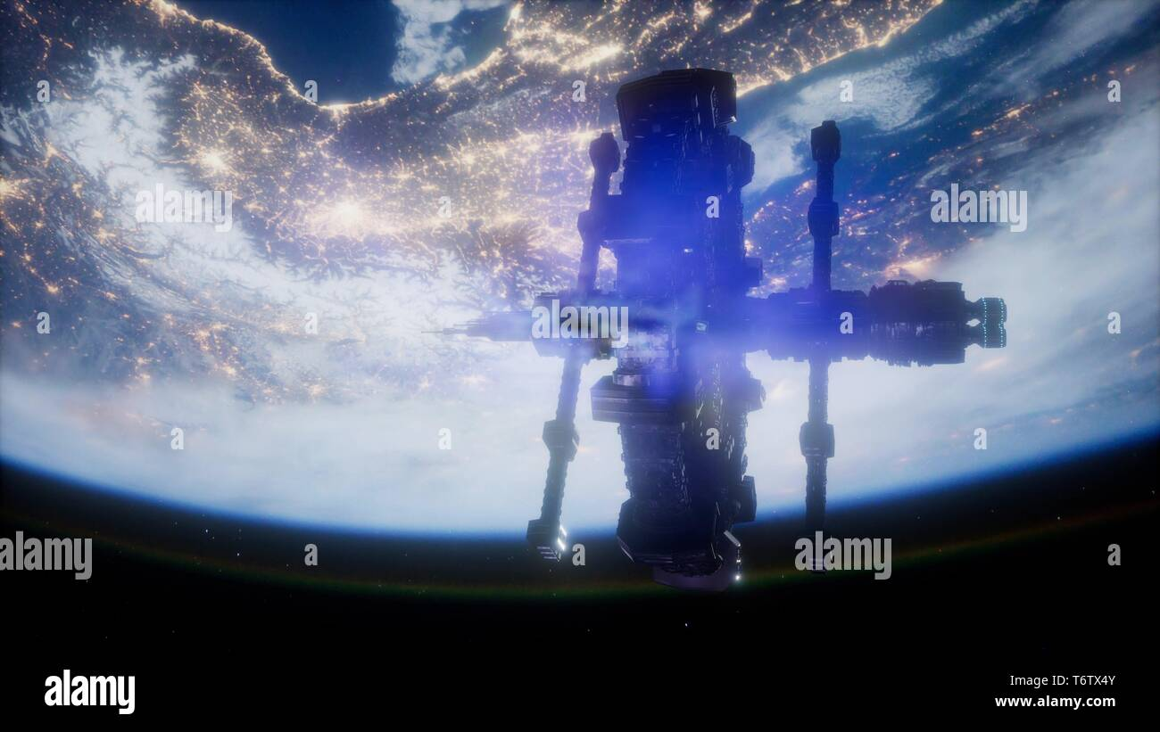 International Space Station - Stock Image
