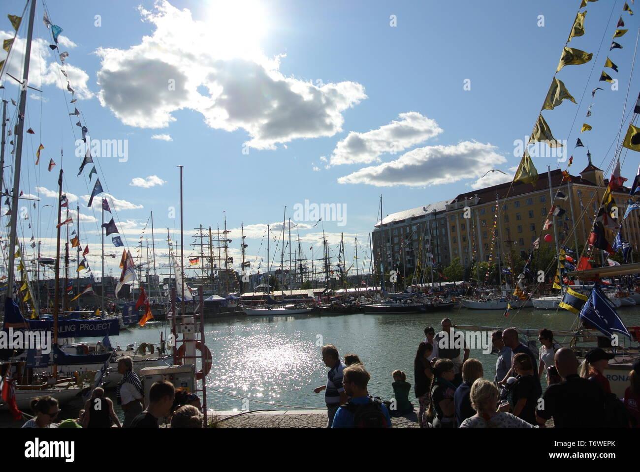 Helsinki Tall Ship Race - Stock Image