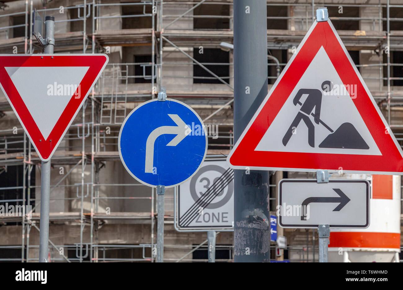 Verkehrsschilder - Stock Image