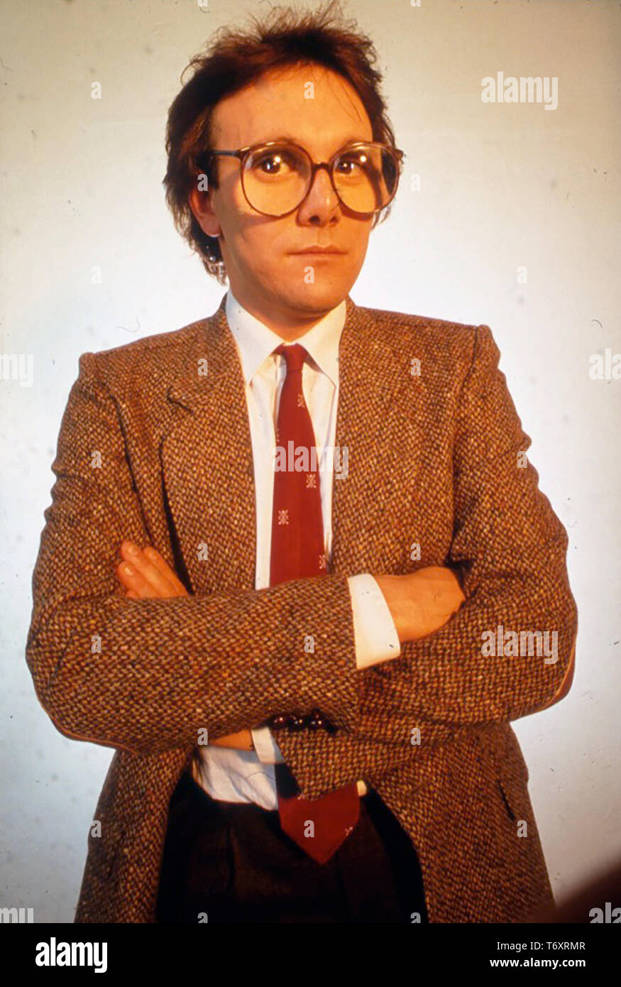 TREVOR HORNE Engish record producer about 1980 - Stock Image