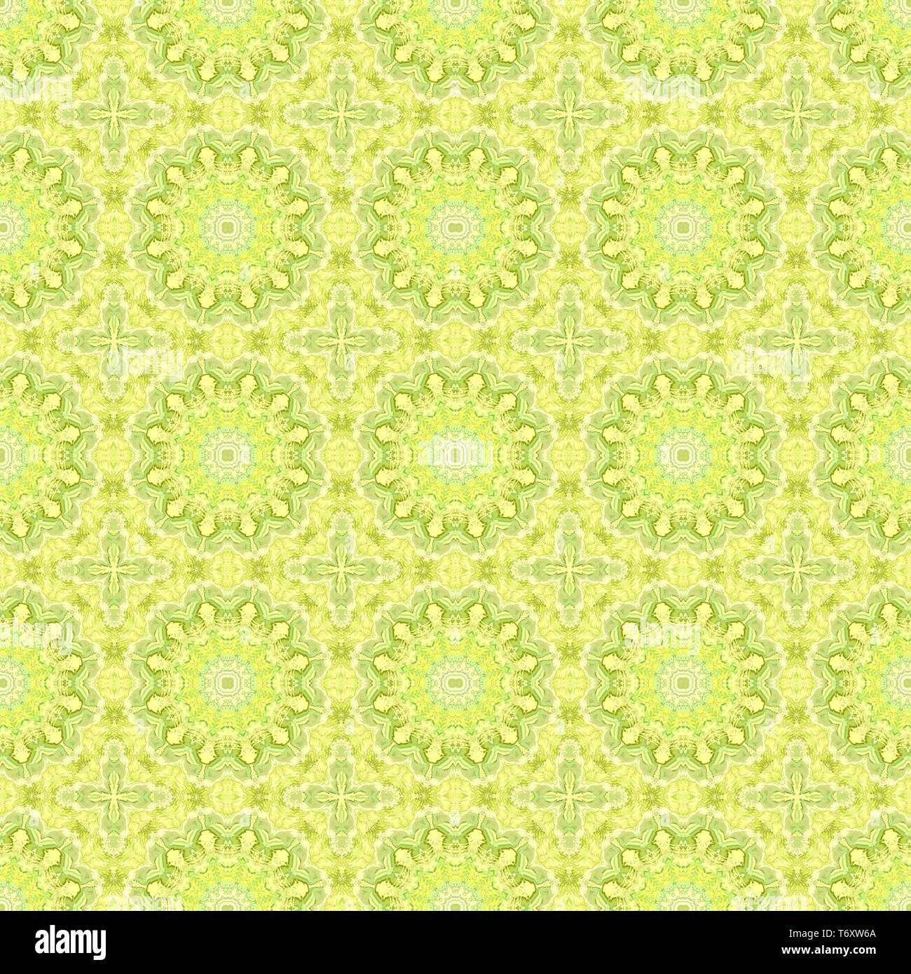 Seamless Wallpaper Pattern With Khaki Lemon Chiffon And Yellow