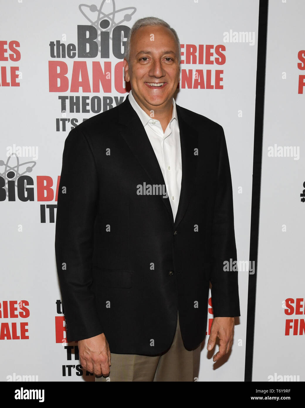 May 1, 2019 - MICHAEL J. MASSIMINO attends The Big Bang Theory's Series Finale Party at the The Langham Huntington. (Credit Image: © Billy Bennight/ZUMA Wire) - Stock Image
