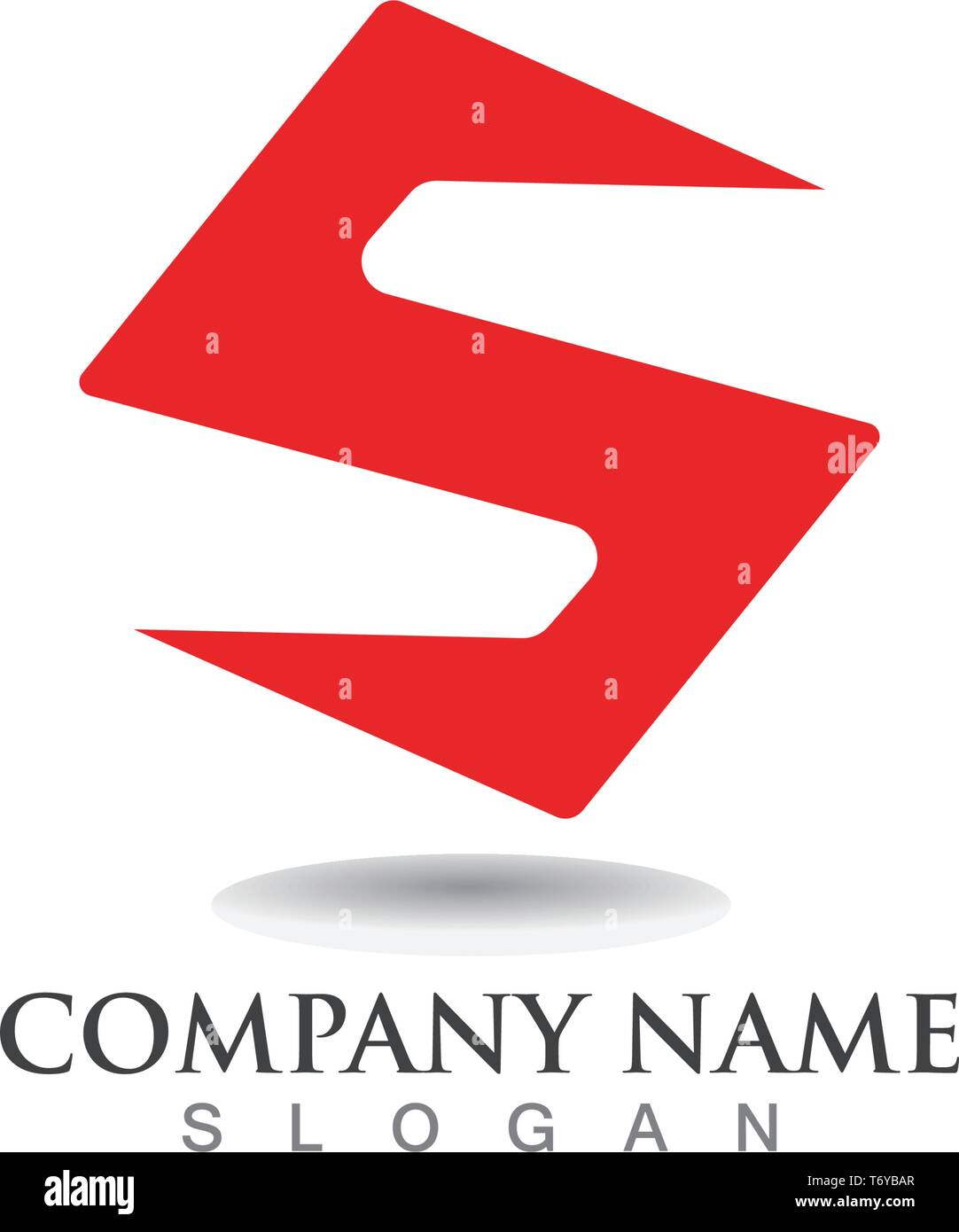 S logo and symbols template vector - Stock Image