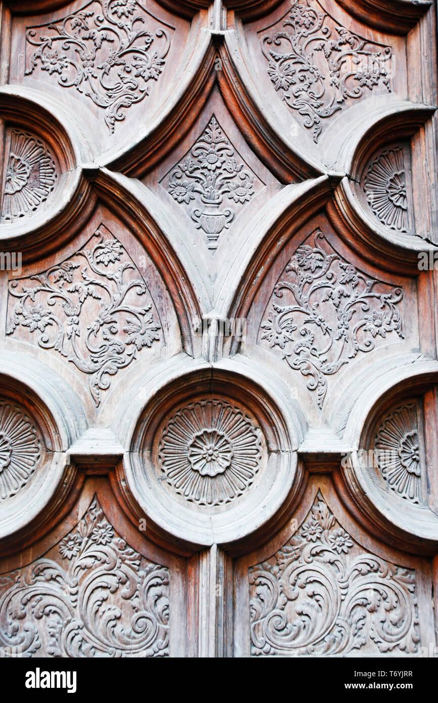 decorative door Stock Photo