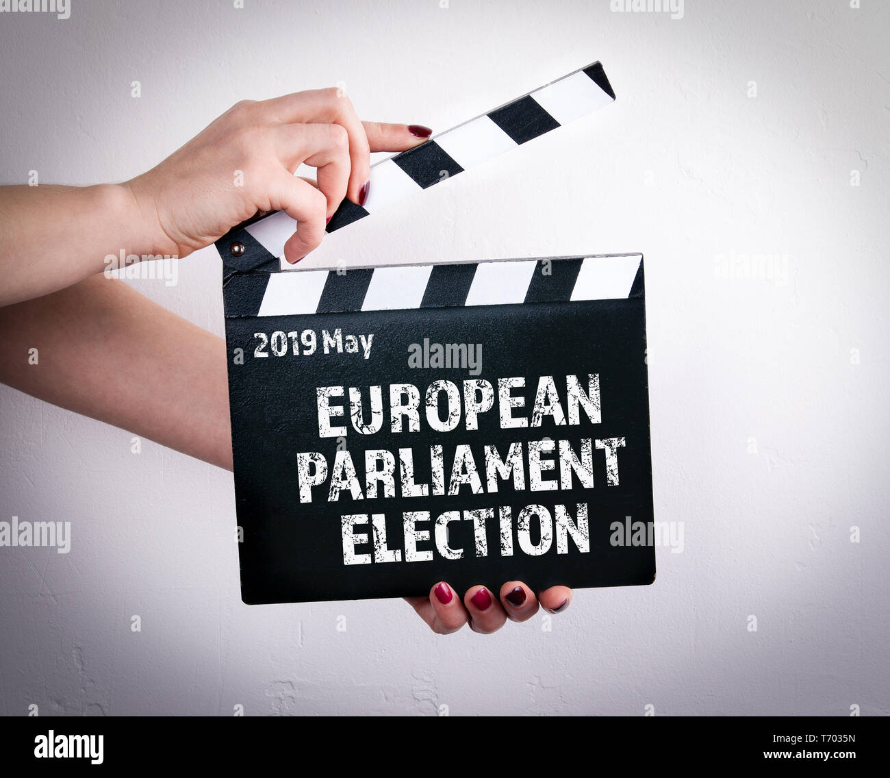 2019 May European Parliament Election - Stock Image